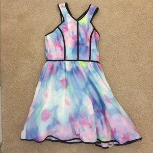 Tea & Cup Multicolored Dress